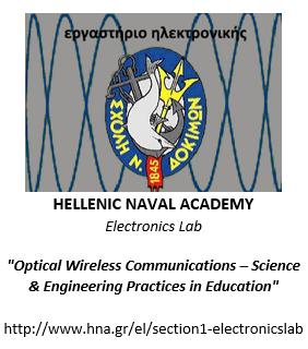 Hellenic Naval Academy Electronics Lab Optical Wireless Communications