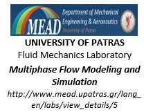 University of Patras Fluid Mechanics Laboratory Multiphase Flow Modeling and Simulation