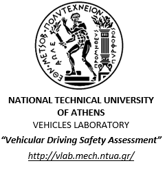 National Technical University of Athens Vehicles Laboratory Vehicular Driving Safety Assessment